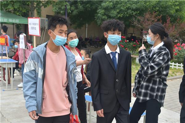 灵宝技工学校:2020级春季重生开学啦!